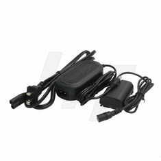 LP-E6 Dummy Battery AC DC Power Adapter , AC DC Power Cable for Canon EOS 5D 7D Mark II 6D 80D